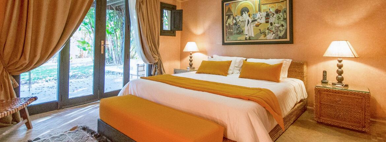 Chambre caméléon - Villa Marrakech