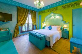 Chambre le scarabée Villa Malika Silvana