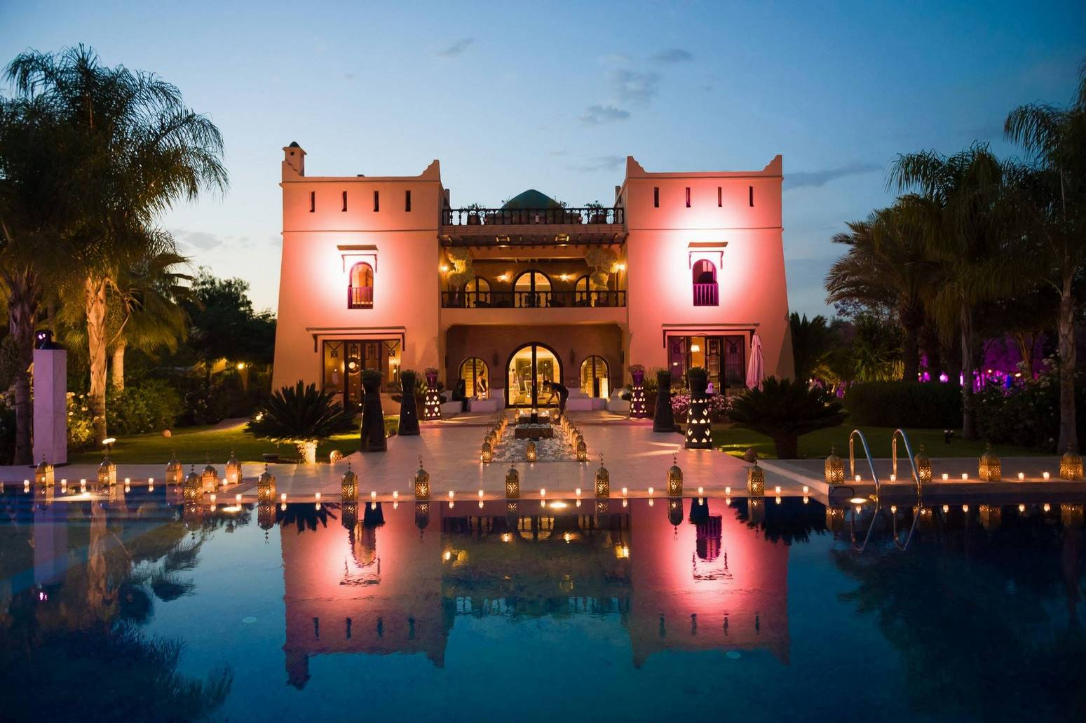 wedding venue marrakech - Villa Malika Silvana